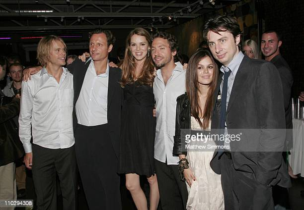 Eric Christian Olsen Tony Goldwyn Jacinda Barrett Michael Weston Rachel Bilson and Zach Braff
