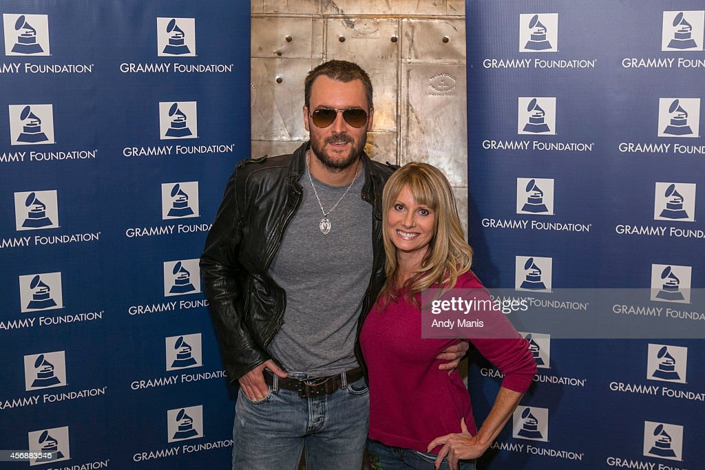 Eric Church and Lisa Swaback attend an Evening With Eric Church Benefitting The GRAMMY Foundation at Orpheum Theater on October 8 2014 in Madison...