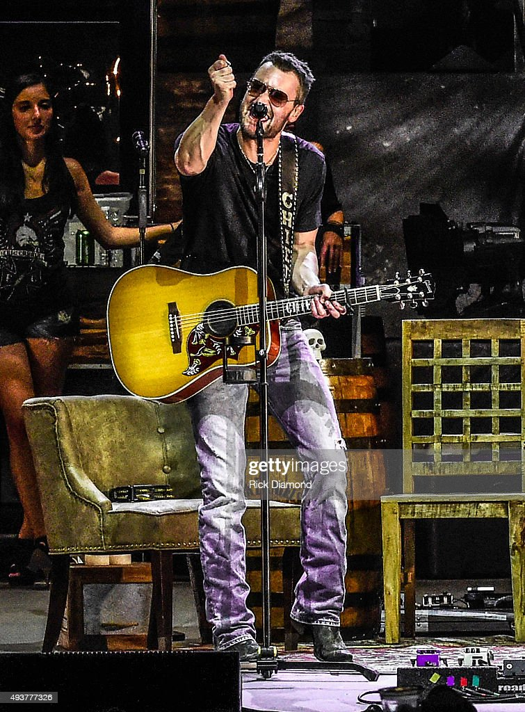 Eric Church performs during Eric Church Day In The Life Images 'Load in to Load out' Eric Church opens the NEW Ascend Amphitheater at on July 31 2015...