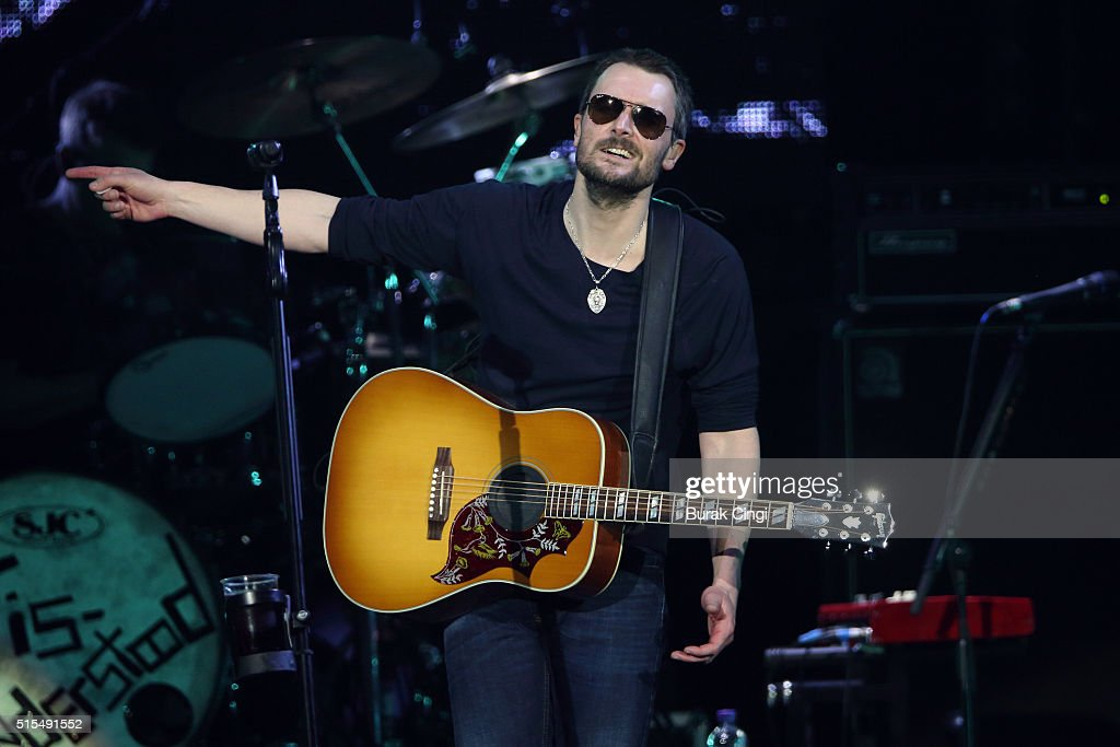 Eric Church performs live on day 3 of C2C Country to Country Festival at The O2 Arena on March 13 2016 in London England