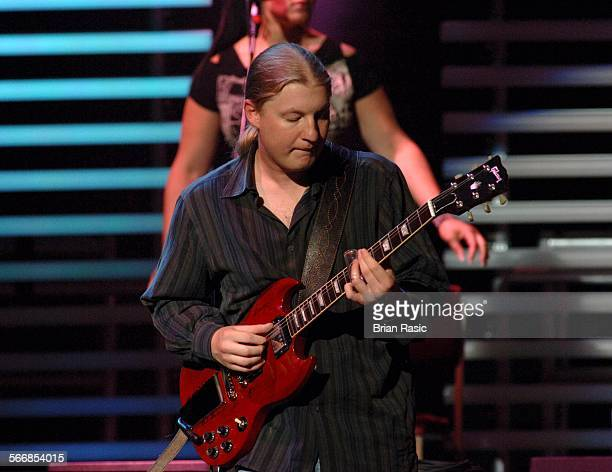 Eric Clapton And His Band In Concert At The Royal Albert Hall London Britain 16 May 2006 Derek Trucks