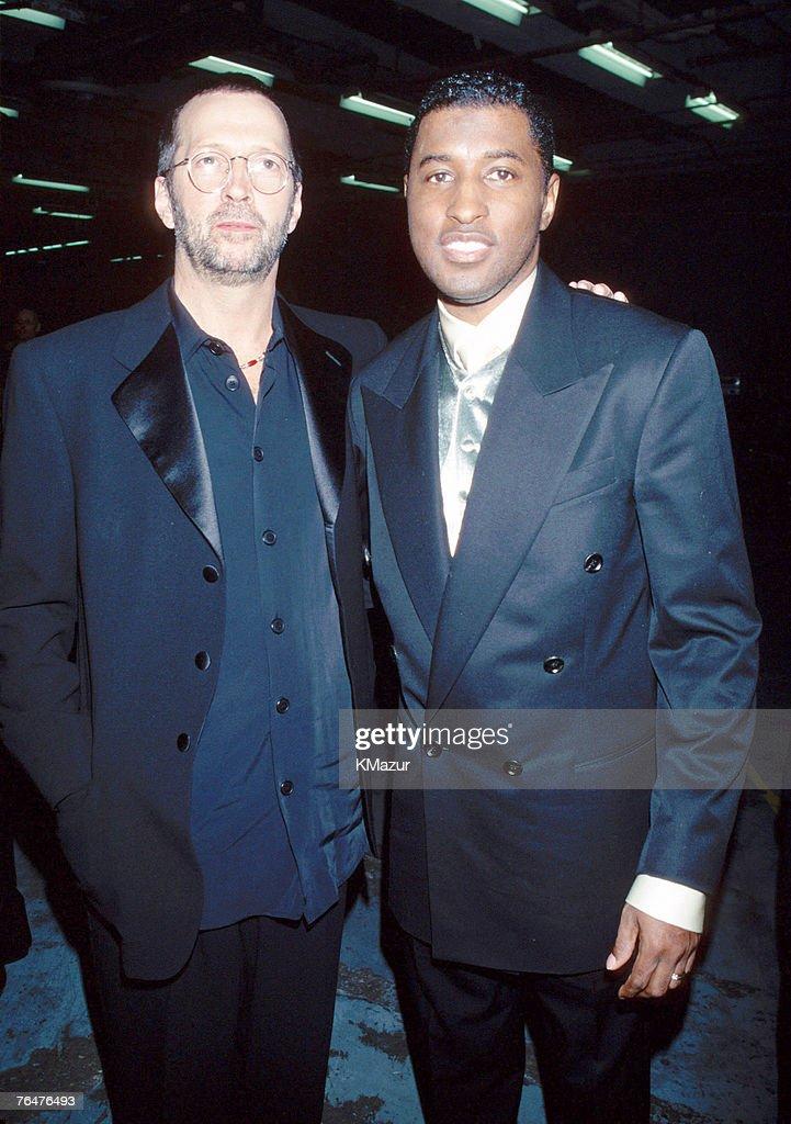 Eric Clapton and Kenny 'Babyface' Edmonds