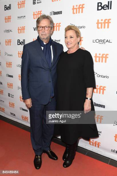 Eric Clapton and Producer Lili Fini Zanuck attend the premiere of 'Eric Clapton Life in 12 Bars' during the 2017 Toronto International Film Festival...