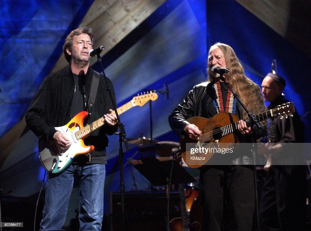 Eric Clapton and Willie Nelson