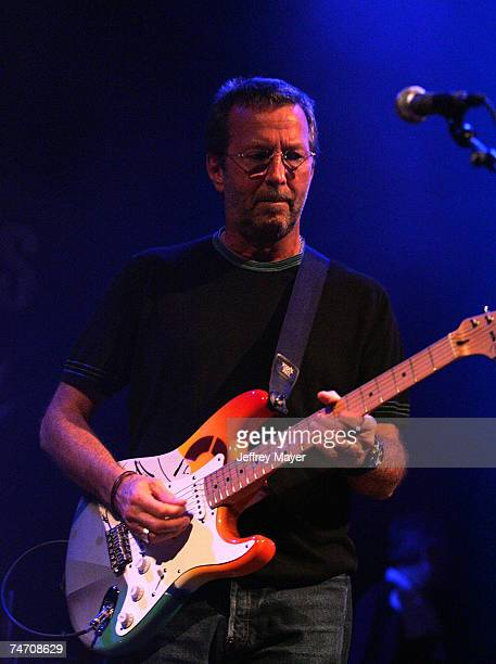 Eric Clapton at the House of Blues Hollywood in West Hollywood California