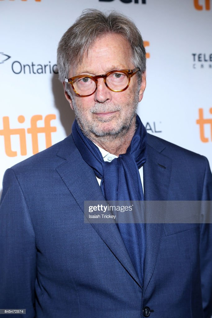 Eric Clapton attends 'Eric Clapton: Life in 12 Bars' during the 2017 Toronto International Film Festival at TIFF Bell Lightbox on September 10, 2017 in Toronto, Canada.