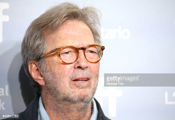 Eric Clapton attends the 'Eric Clapton Life in 12 Bars' photo call 2017 TIFF Premieres Photo Calls and Press Conferences held on September 11 2017 in...