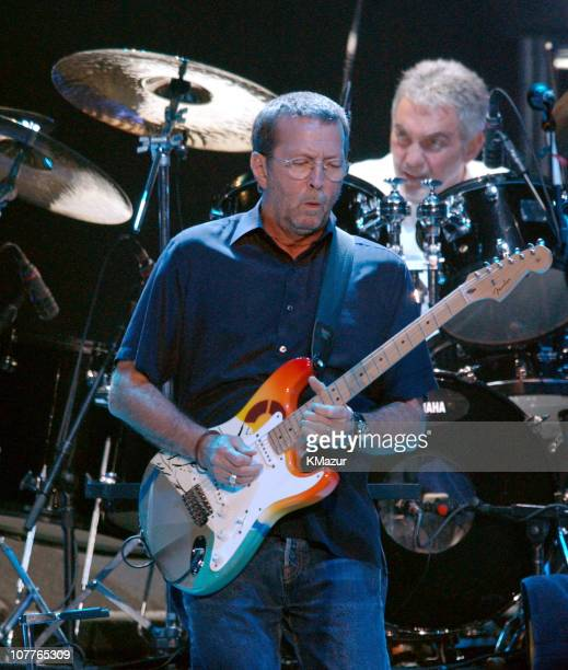 Eric Clapton during Eric Clapton in Concert June 28 2004 at Madison Square Garden in New York City New York United States