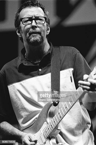 Eric Clapton guitar performs at the North Sea Jazz Festival in the Hague Netherlands on 11th July 1997