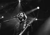 Eric Clapton guitar performs at the Statenhal in the Hague the Netherlands on 24th February 1990