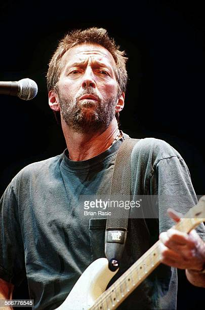 Eric Clapton Performing At The Royal Albert Hall In London Britain 1996 Eric Clapton