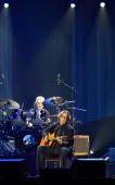 Eric Clapton performs at 02 Arena on February 13 2010 in London England