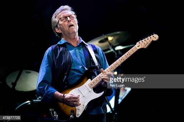 Eric Clapton performs at Royal Albert Hall on May 14 2015 in London United Kingdom