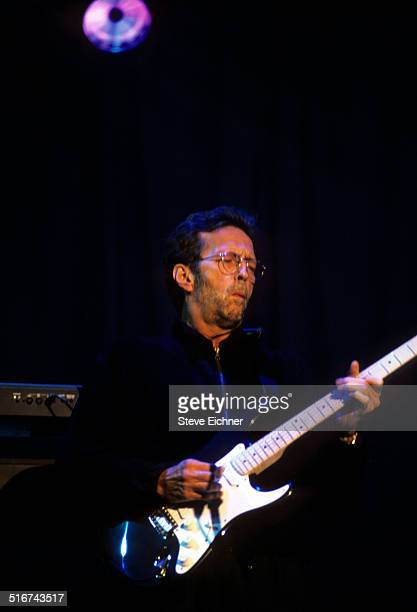 Eric Clapton performs at the Armory New York September 12 1996