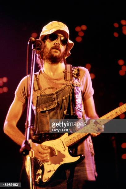 Eric Clapton performs at the Cow Palace in Daly City CA on July 241974