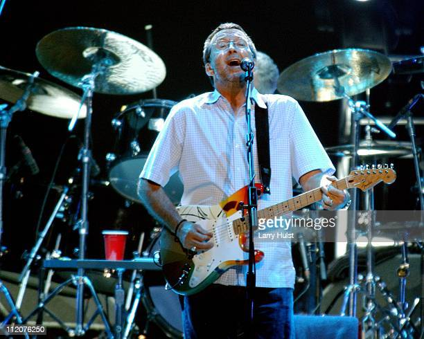 Eric Clapton performs at the Pepsi Center in Denver Colorado on March 9 2007