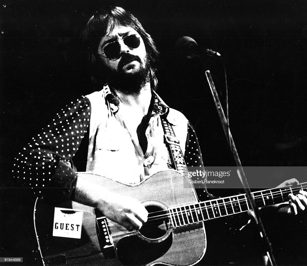 <a gi-track='captionPersonalityLinkClicked' href=/galleries/search?phrase=Eric+Clapton&family=editorial&specificpeople=158744 ng-click='$event.stopPropagation()'>Eric Clapton</a> performs live on stage at Ahoy, Rotterdam on November 30 1974 during his 461 Ocean Boulevard European Tour