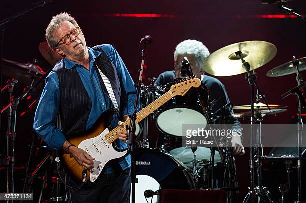 Eric Clapton performs live on stage at Royal Albert Hall on May 14 2015 in London England