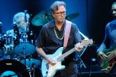Eric Clapton performs on stage at Royal Albert Hall on May 26 2011 in London United Kingdom