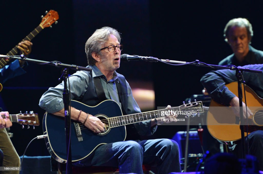 <a gi-track='captionPersonalityLinkClicked' href=/galleries/search?phrase=Eric+Clapton&family=editorial&specificpeople=158744 ng-click='$event.stopPropagation()'>Eric Clapton</a> performs on stage during the 2013 Crossroads Guitar Festival at Madison Square Garden on April 12, 2013 in New York City.