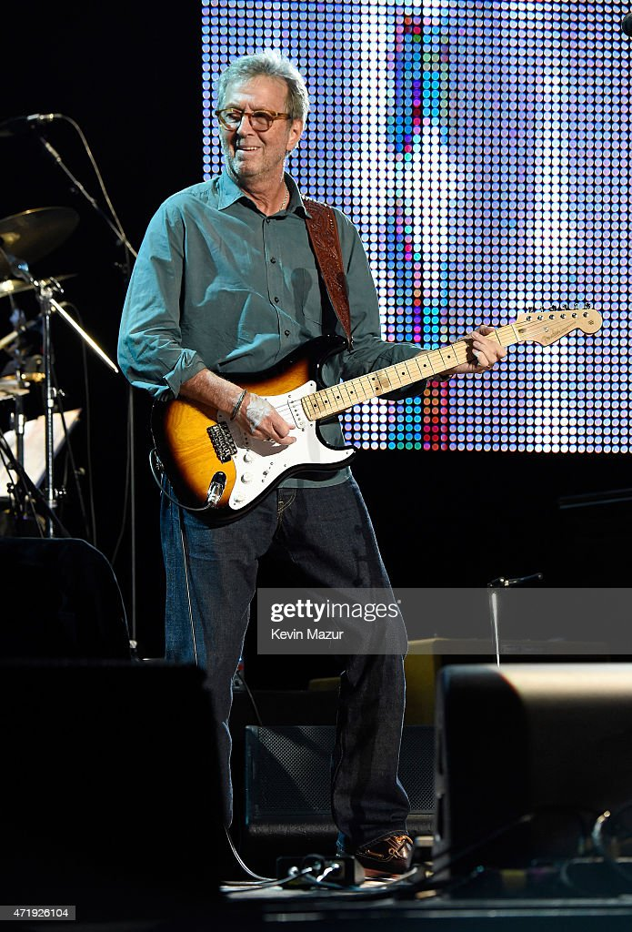 <a gi-track='captionPersonalityLinkClicked' href=/galleries/search?phrase=Eric+Clapton&family=editorial&specificpeople=158744 ng-click='$event.stopPropagation()'>Eric Clapton</a> performs onstage during his 70th Birthday Concert Celebration at Madison Square Garden on May 1, 2015 in New York City.