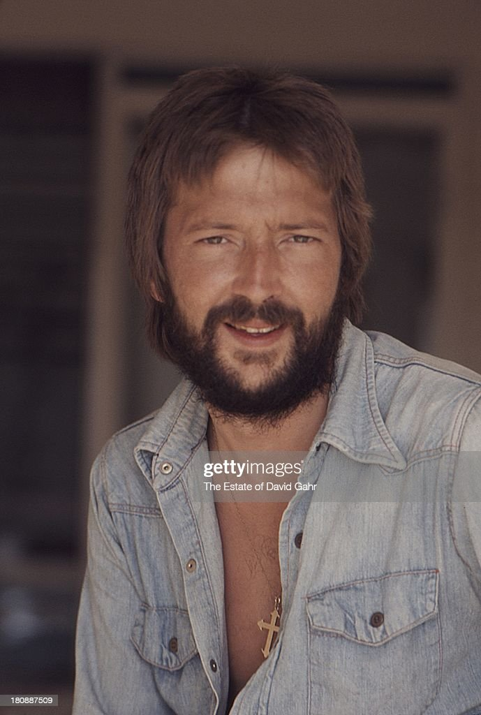 <a gi-track='captionPersonalityLinkClicked' href=/galleries/search?phrase=Eric+Clapton&family=editorial&specificpeople=158744 ng-click='$event.stopPropagation()'>Eric Clapton</a> poses for a portrait at his rented home at 461 Ocean Blvd in April1974 in Golden Beach, Florida.