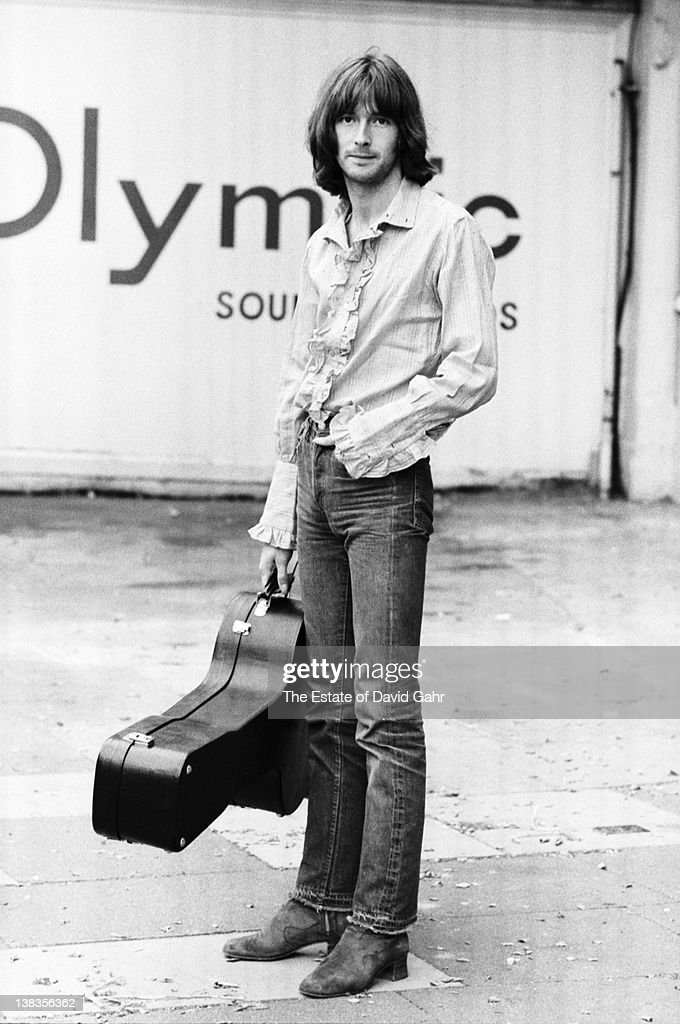 <a gi-track='captionPersonalityLinkClicked' href=/galleries/search?phrase=Eric+Clapton&family=editorial&specificpeople=158744 ng-click='$event.stopPropagation()'>Eric Clapton</a> poses for a portrait in July 1969 outside Olympic Studios during recording session with Blind Faith in London, Great Britain.