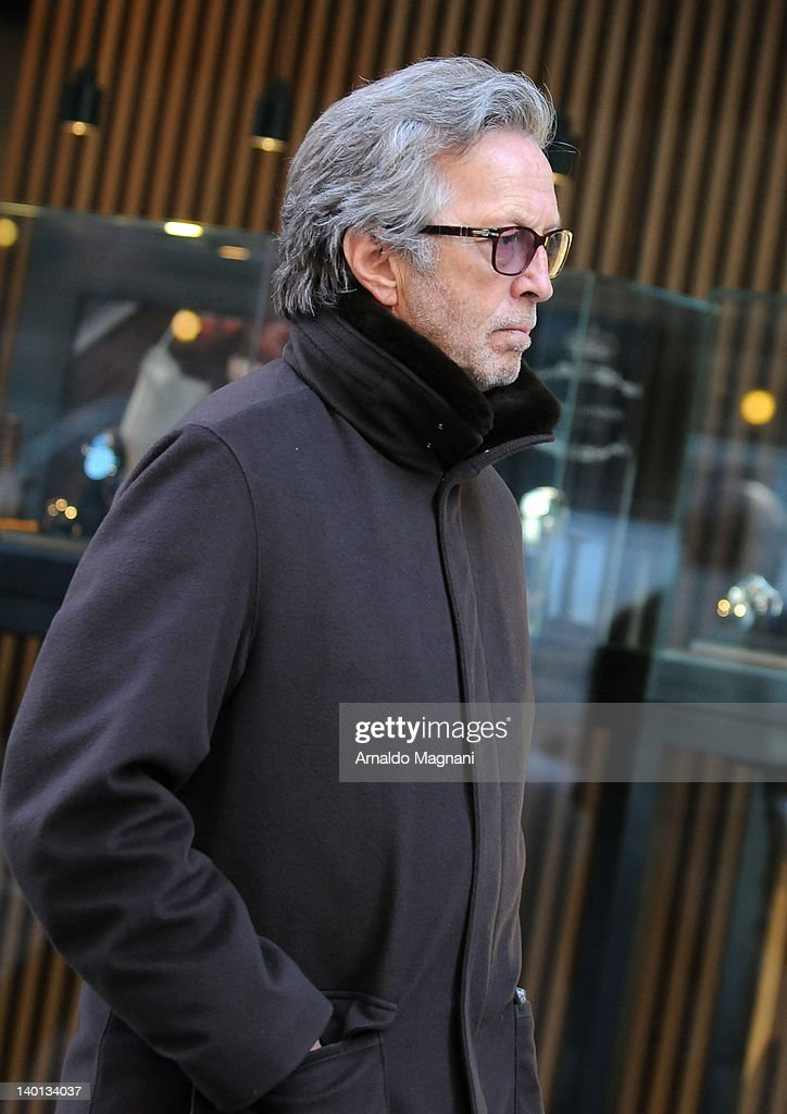 Eric Clapton sighting on February 28, 2012 in New York City.