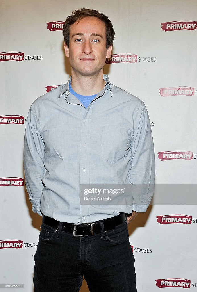 Eric Clem attends the 'All In The Timing' press preview at Primary Stages Rehearsal Studio on January 8, 2013 in New York City.