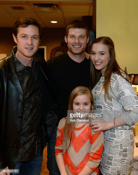 Eric Close Chris Carmack Maisy Stella and Lennon Stella attend Cast Of ABC's 'Nashville' Answer Questions From Fans During A SiriusXM 'Town Hall'...
