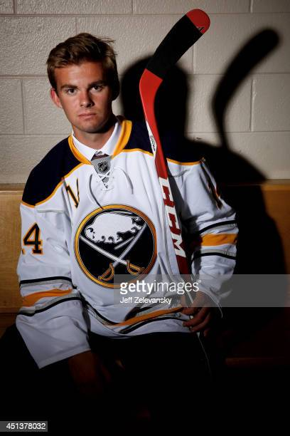 Eric Cornel of the Buffalo Sabres poses for a portrait during the 2014 NHL Draft at the Wells Fargo Center on June 28 2014 in Philadelphia...