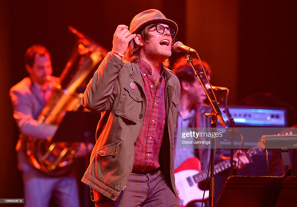 Eric D. Johnson performs at The Last Waltz Tribute Concert at The Warfield Theater on November 24, 2012 in San Francisco, California.