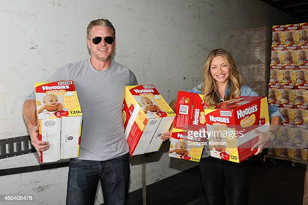 Eric Dane and Rebecca Gayheart help Huggies deliver hugs in the form of thousands of diaper donations to Baby2Baby For every use of the hashtag...