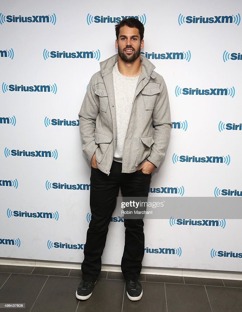 Eric Decker visits at SiriusXM Studios on December 1 2015 in New York City