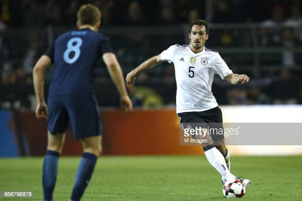 Eric Dier of England Mats Hummels of Germanyduring the friendly match between Germany and England on March 22 2017 at the Signal Iduna Park stadium...