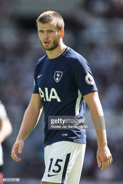 Eric Dier of Tottenham Hotspur during the Premier League match between Newcastle United and Tottenham Hotspur at St James Park on August 13 2017 in...