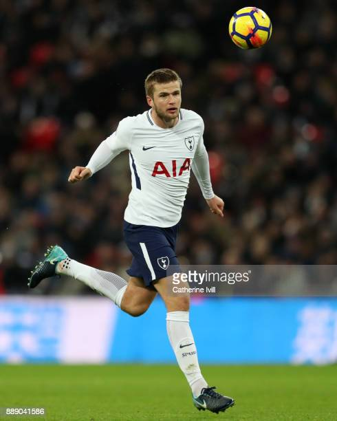 Eric Dier of Tottenham Hotspur during the Premier League match between Tottenham Hotspur and Stoke City at Wembley Stadium on December 9 2017 in...