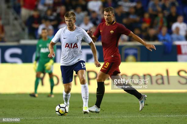 Eric Dier of Tottenham Hotspur in action against Roma during the International Champions Cup 2017 at Red Bull Arena on July 25 2017 in Harrison New...