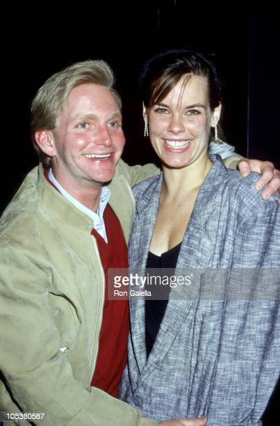 Eric Douglas and Alexandra Paul during 1987 Young Artist Group at Comedy Store in Los Angeles California United States