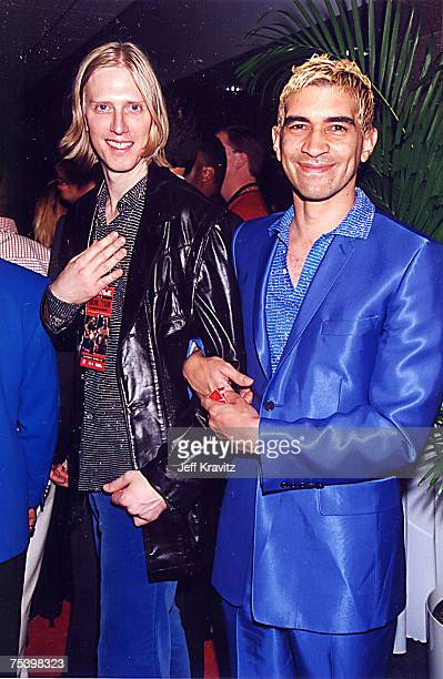 Eric Erlandson of Hole and Pat Smear of Foo Fighters