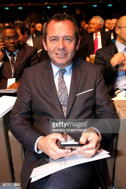 Eric Falt attends the '2017 L'Oreal UNESCO for Women in Science' 19th Awards Ceremony at Maison de la Mutualite on March 23 2017 in Paris France