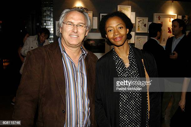 Eric Fischl and Kara Walker attend BOMB Magazine Celebrates 26th Anniversary Spring Gala at The Park on April 17 2007 in New York City
