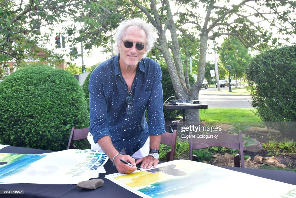 Eric Fischl attends the The Hamptons International Film Festival SummerDocs Series Screening of WHITNEY. 'CAN I BE ME' at UA Southampton 4 Theatres on August 17, 2017 in Southampton, New York.