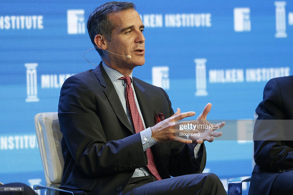 mayor of l a Los angeles mayor eric garcetti, who is mulling a run for president in 2020, said he's concerned that president donald trump's trade policies are hurting the economy of america's second-most .