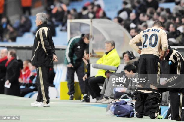 Eric GERETS / Hatem BEN ARFA Marseille / Fc Twente UEFA Cup 2008/2009