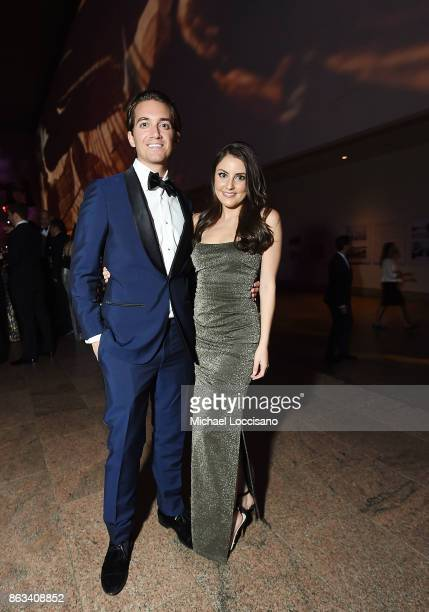 Eric Goldie and Daniela Pierre attend the 2017 Apollo Circle Benefit at The Metropolitan Museum of Art on October 19 2017 in New York City
