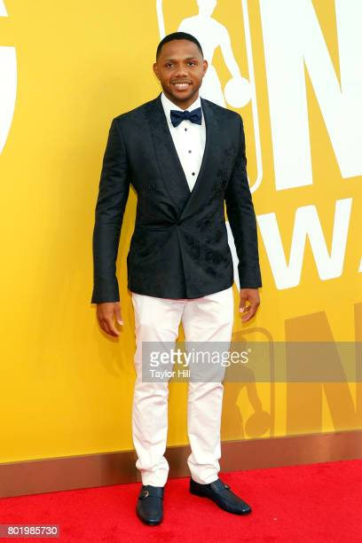 Eric Gordon attends the 2017 NBA Awards at Basketball City Pier 36 South Street on June 26 2017 in New York City