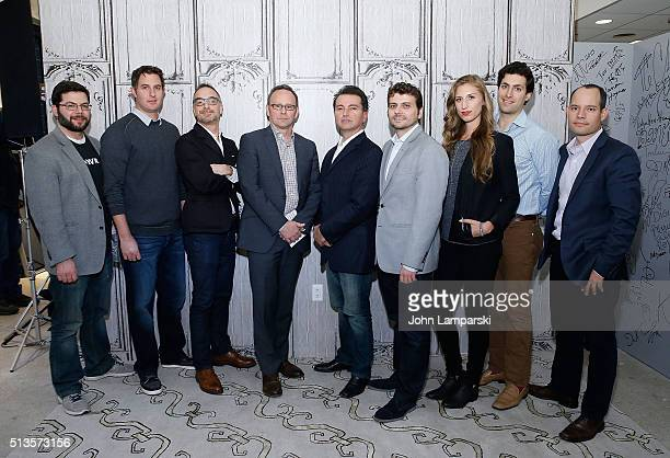 Eric Greenbaum Tony Mugavero James Pallot William Pence Nicholas Longano Endri Tolka Molly Swenson Dave Eisenberg and Juan Santillan of AOL Global...