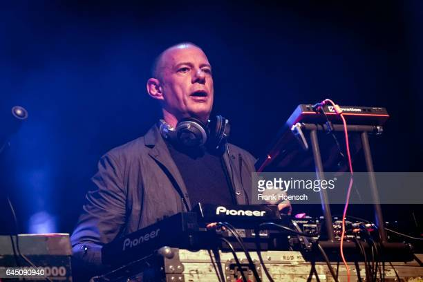 Eric Hilton of the American band Thievery Corporation performs live during a concert at the Astra on February 24 2017 in Berlin Germany