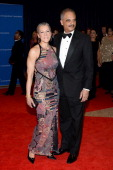 Eric Holder US Attorney General and Sharon Malone attend the 100th Annual White House Correspondents' Association Dinner at the Washington Hilton on...